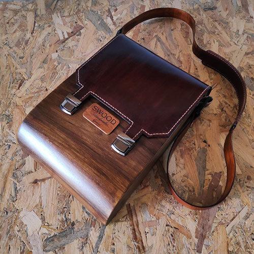 Дървени мъжки чанти