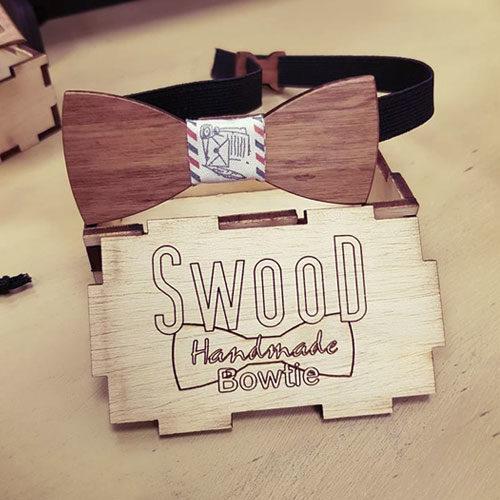 Дървени папийонки