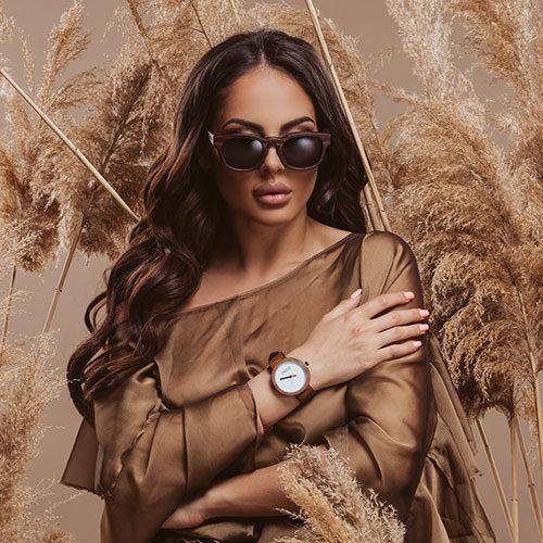 Дървени ръчни часовници